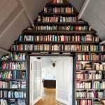 Çatı katı için mükemmel bir kitaplık modeli