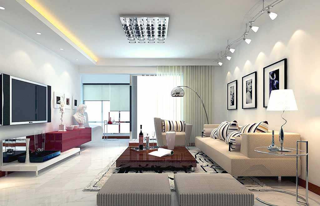 Modern salon aydınlatma modelleri
