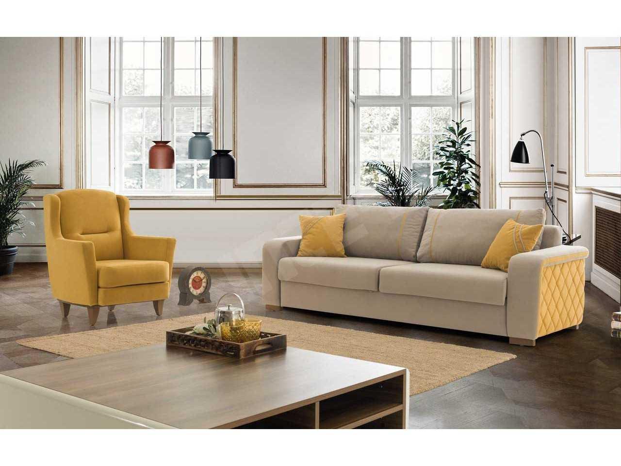 sarı inter mobilya modelleri