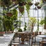 Çiçekli Kafe Dekorasyonları