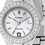 metal fossil bayan kol saatleri