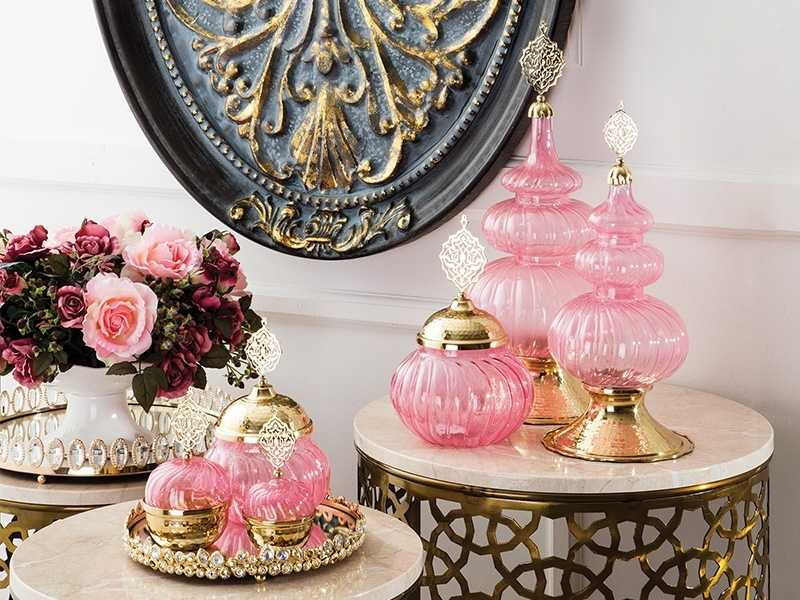 ottoman dekoratif cam aksesuarlar