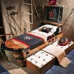 çocuklar için korsan gemisi oda dekorasyon fikirleri