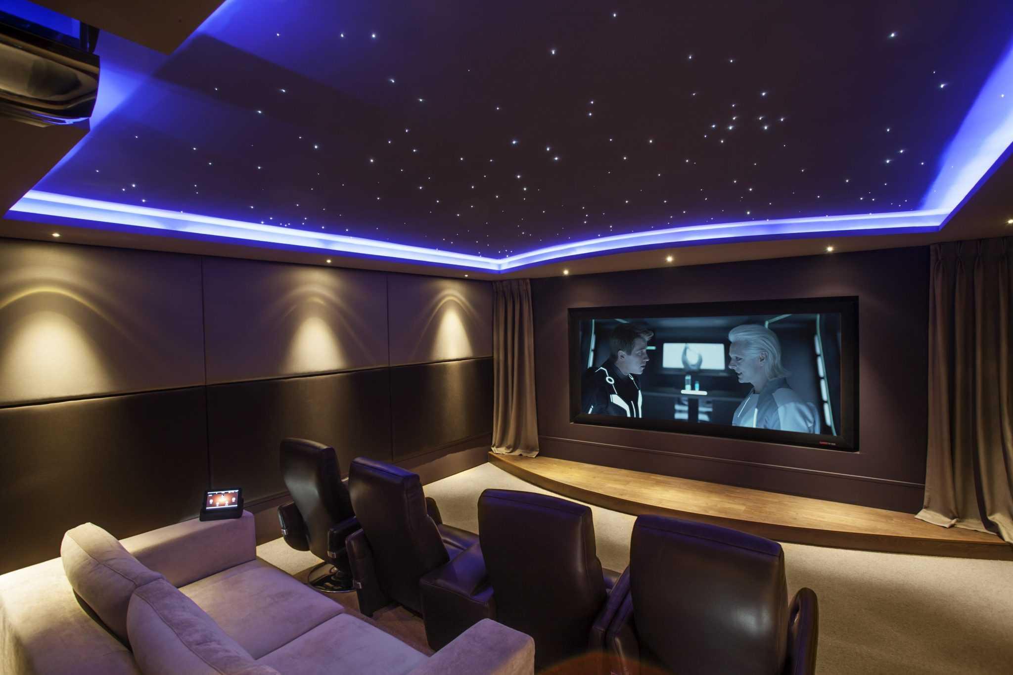 sinema odası dekorasyon fikirleri