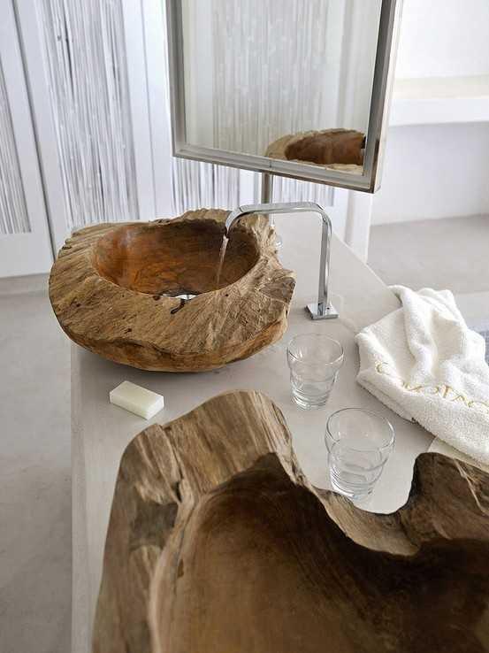 taş lavabo tasarımı