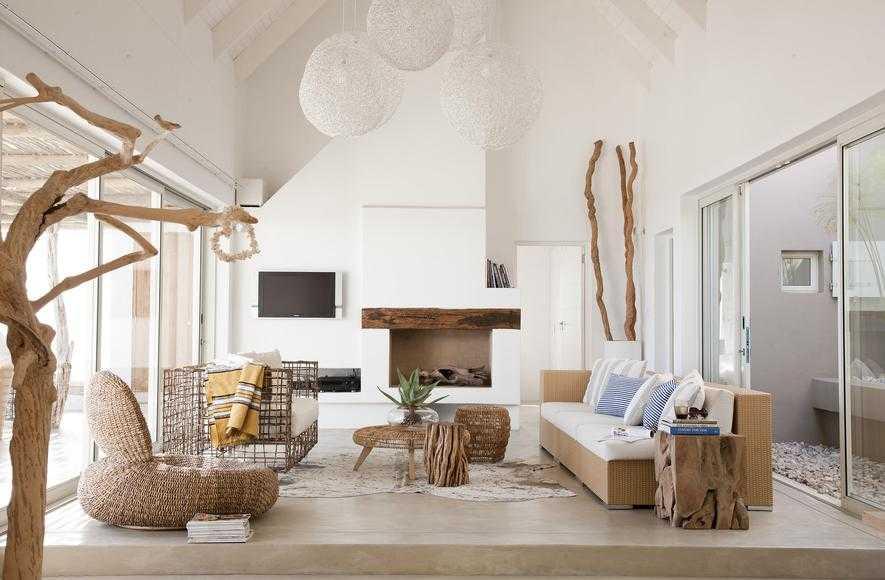 yazlık evler doğal fikirler