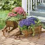 çiçek bahçe dekoratif fikirler