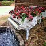 bahçe modern dekoratifler fikirler