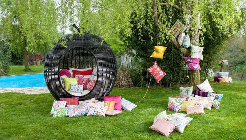 eğlenceli bahçe dekorasyonları