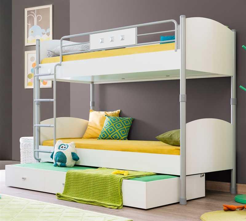 modern çilek çocuk odası ranza modelleri