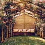 romantik bahçe dekorasyonu