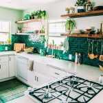 2021 bohem tarzı mutfak dekorasyonu