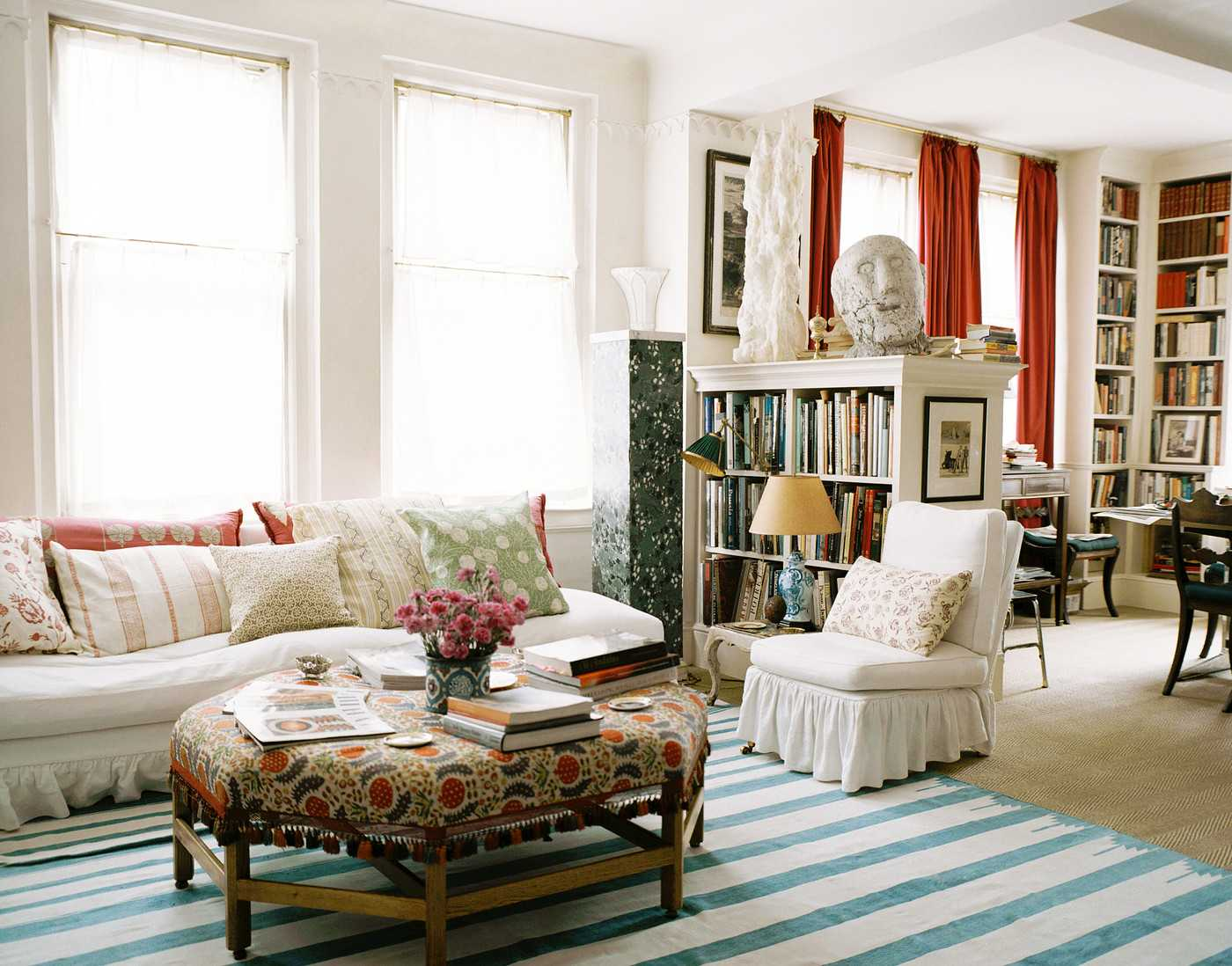bohem oturma odası dekorasyonu