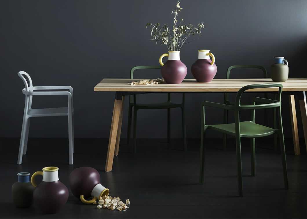 ikea masa ve sandalye dekorasyonu