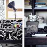 siyah beyaz ikea mobilyaları