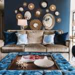 dekoratif aynalar çarpıcı dekorasyonlar