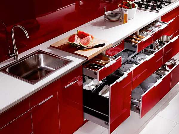mutfak dolabı iç düzenleyicileri