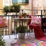 tatlı balkon dekorasyon fikirleri