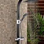 siyah duş seti