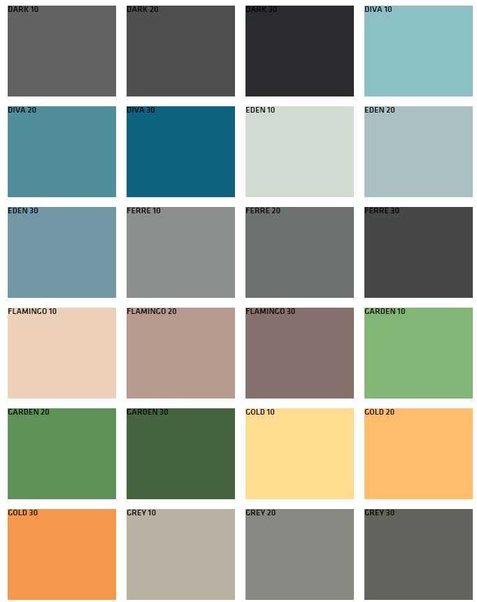 Favori Boya Dış Cephe Renkleri