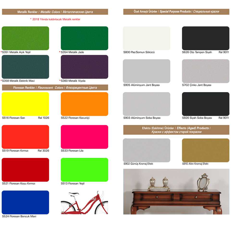 casati boya sprey renkleri 3