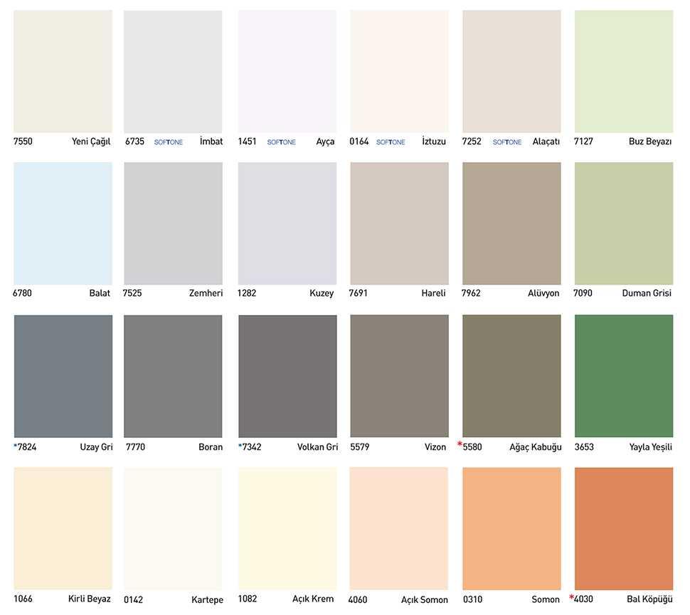 dyo boya dış cephe renkleri 1