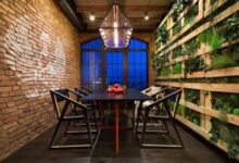şık yemek odası tasarımları