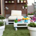 En Güzel Bahçe Katı Balkon Modelleri