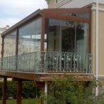 En Tarz Bahçe Katı Balkon Modelleri