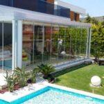 Modern Bahçe Katı Balkon Modelleri