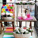 Renkli Balkon Halısı Modelleri