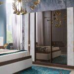 Yeni Moda Mermerli Yatak Odası Tasarımları