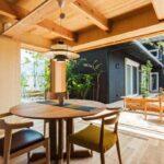 gösterişli ve minimal yemek odaları