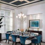 gösterişli yemek odası masaları