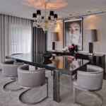 ilginç tasarımlı yemek odası masaları