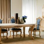 klasik ve gösterişli yemek odasi ornekleri
