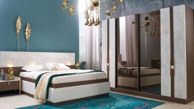 mermerli yatak odası modelleri