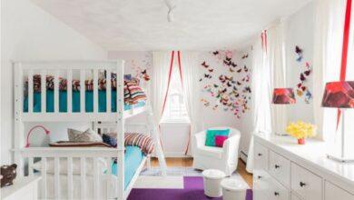 İki Kişilik Çocuk Odası Dekorasyonları