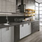 Gri mutfak dekorasyonları