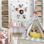 Hayvan Figürlü Çocuk Odası Dekorasyonları