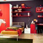Kırmızı Çocuk Odası Dekorasyonları