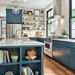 Mavi Mutfak Mobilyaları