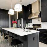 Siyah Beyaz Mutfak Dekorasyonları