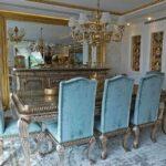 Turkuaz Klasik Yemek Odası Takımları