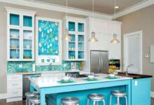 Turkuaz Mutfak Mobilyaları