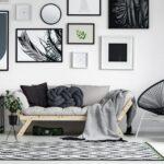 tablolu salon dekorasyonu